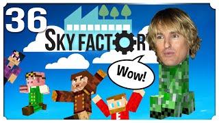 Creepy Creepers - Minecraft: Sky Factory #36 [Sky Factory 4 modpack]
