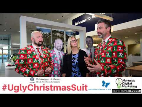 #UglyChristmasSuit Fundraiser - Volkswagen of Marion Sleigh Rider Promo