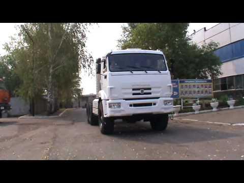 КАМАЗ 43114 с газовым двигателем на метане
