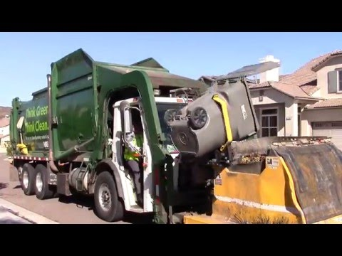 Waste Management Garbage Trucks of San Diego - Part 3 (North County Edition)