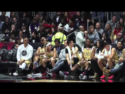 160212 Kris WuYifan  NBA All Star Celebrity Game interview
