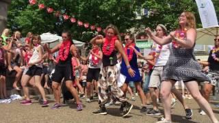 Flashmob, Fitness World, 4. juni 2016, Randers