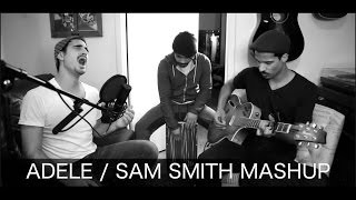 ADELE (Hello) vs. SAM SMITH (Writing's On The Wall) = BEST MASHUP!!!!- Cover By Nathan Lucrezio