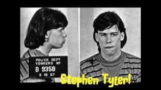 Old celebrity Mugshots Steven Tyler.....