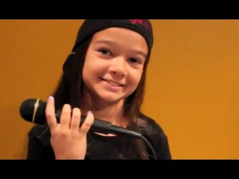 Tom Sawyer - RUSH cover by 10 year old Sara & Motion Device