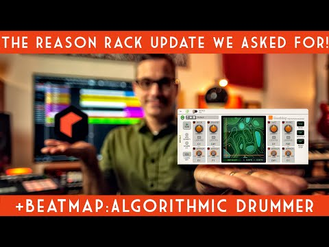Reason 11.2! New Beatmap Drum Player and Rack MIDI out in your DAW!