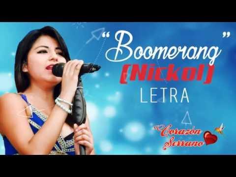 Corazon Serrano - Boomerang con letra (Primicia 2016)