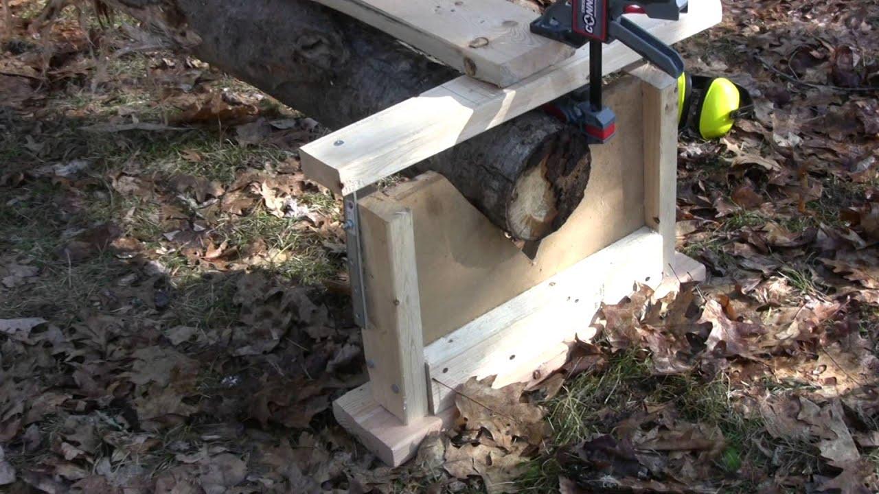 Chainsaw Mill Planking Lumber Boards Milling Vertical Cut Stihl Husqvarna
