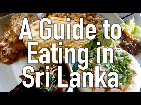 Sri Lanka Food - What to Expect, What to Try, Stuff This in Yo Mouth Hole!
