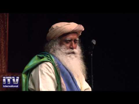 Sadhguru Jaggi Vasudev in New Jersey - YouTube