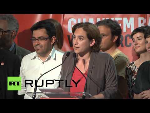 Spain: Activist Ada Colau elected new mayor of Barcelona
