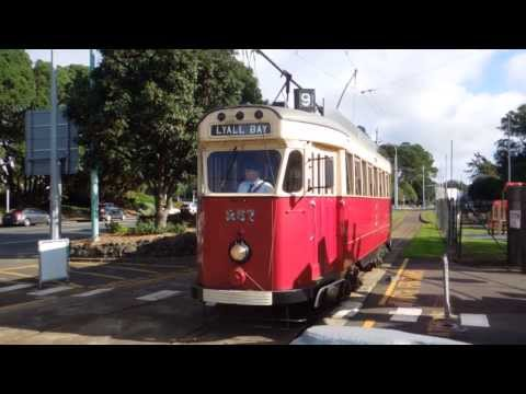 New Zealand MOTAT Heritage Tramcars