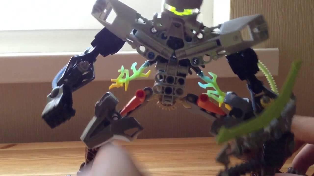 Как сделать из лего бионикл самоделки роботы