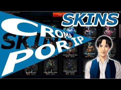 Comprando Skins Croma agora por IP - League of Legends