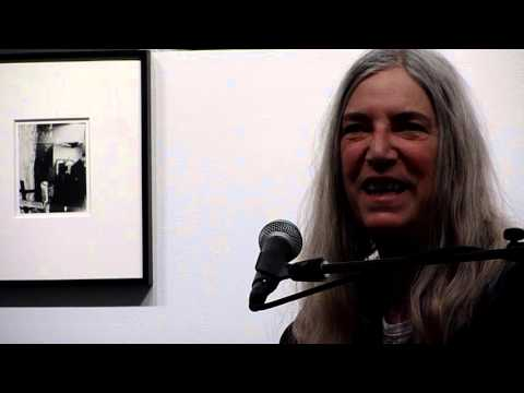 Patti Smith -- ABOUT HER WORK -- Robert Miller Gallery -NYC - March 5, 2016