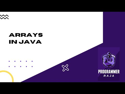 Arrays in java programming || java tutorial thumbnail