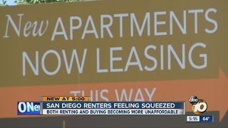 San Diego Renters Feeling Squeezed