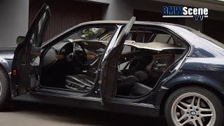 BMW SCENE TV DIY #3 - Neubezug Dachhimmel | E38 728i