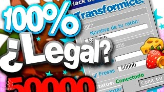 ►[Transformice] Hack de fresas 100%... ¿Legal? ▼Descarga el programa*▼