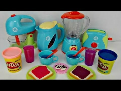 Just Like Home Deluxe Kitchen Appliances, Full Complete Set Disney Frozen Anna Elsa Playdoh  TUYC Jr