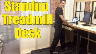 Building A Standup Treadmill Desk