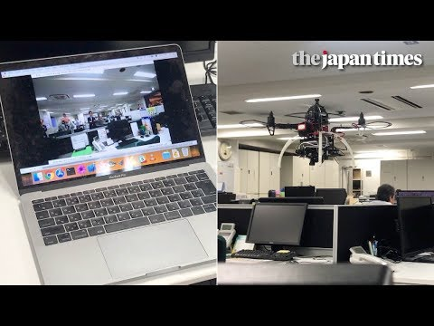 [REPOST] Introducing T-Frend: a Japanese drone that monitors office workers