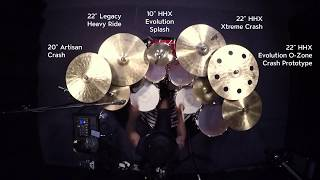 SABIAN Artist Chris Johnson Performs Crown by Camila Cabello