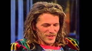 Hans Söllner in einer Talkshow - 1993!!!