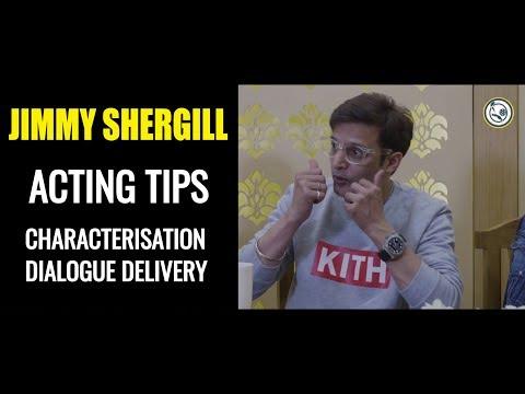 JIMMY SHERGILL I ACTING TIPS I DIALOGUE DELIVERY I SAHEB BIWI AUR GANGSTER