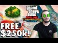 FREE $250,000 for LOGGING IN! - GTA 5 Online Transform Races