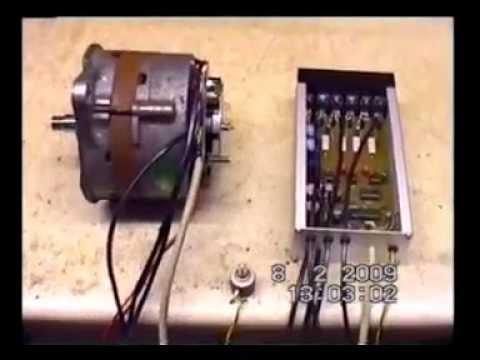 Gemeinsame Lichtmaschine als Brushless Motor / alternator as brushless motor &GR_67