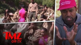 Kanye West Shoots 'We Got Love' Music Video At TMZ | TMZ TV