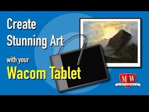 Create Stunning Art with your Wacom Tablet (Part 1)