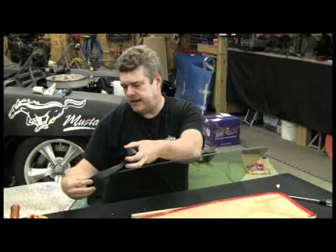 Episode 37 Part 2 of 2 Safely install automotive glass into window channels Autorestomod