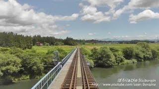 北上線01(北上→和賀仙人~rear window view)