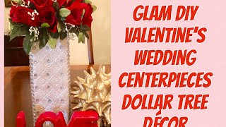 Elegant Centerpiece Ideas Glam DIY Valentines Day Wedding Centerpieces Creating Elegance For Less