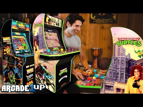 TMNT Arcade 1Up: The King Of All Machines - (A Game Building Adventure) from The Gaming Circle
