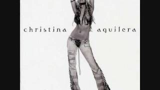 Christina Aguilera Infatuation w/ Lyrics