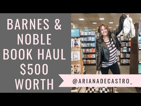 barnes-&-noble-black-friday-book-haul-2019-($500-worth-of-books!)