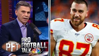 PFT OT: Travis Kelce: Matt Moore's experience will help Chiefs | Pro Football Talk | NBC Sports