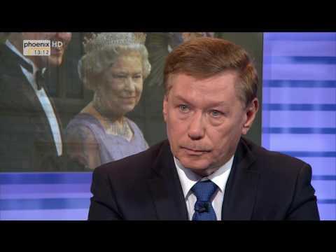Deutsche und Briten - erst Fremde, dann Freunde? - History live vom 23.10.2016
