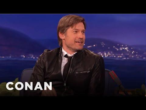 """Nikolaj CosterWaldau's """"Game Of Thrones"""" Spoilers   CONAN on TBS"""