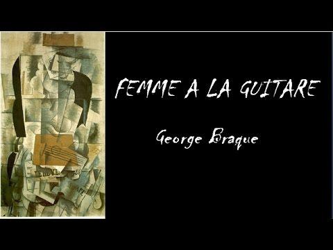 George Braque Femme a la Guitare