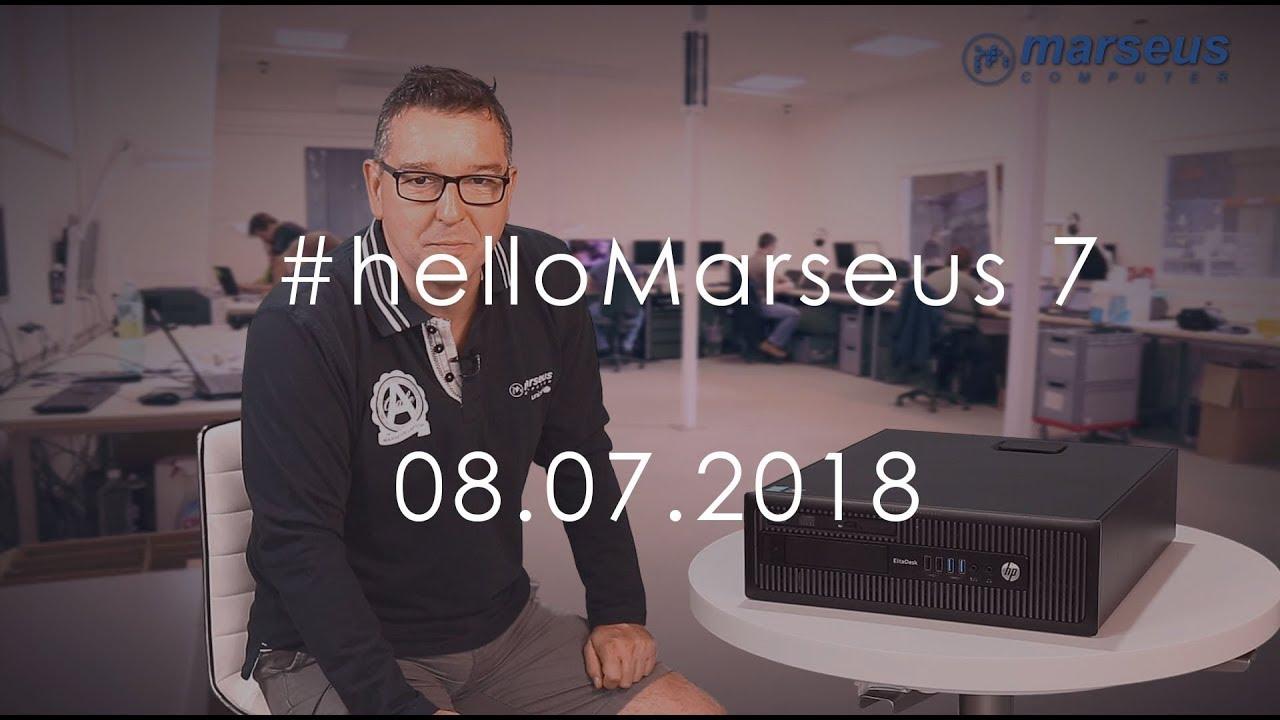 HP EliteDesk 800 G1 SFF i7-4770 - #helloMarseus 7  - 08 07 2018