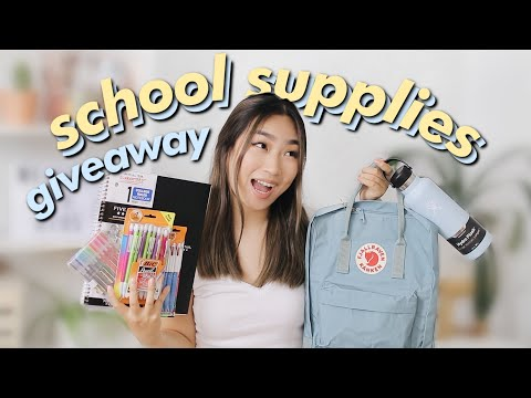Back to School Supplies Haul + GIVEAWAY 2019 | JENerationDIY