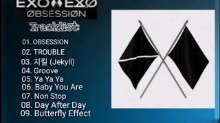 TRACKLIST EXO 'OBSESSION' The 6th Album