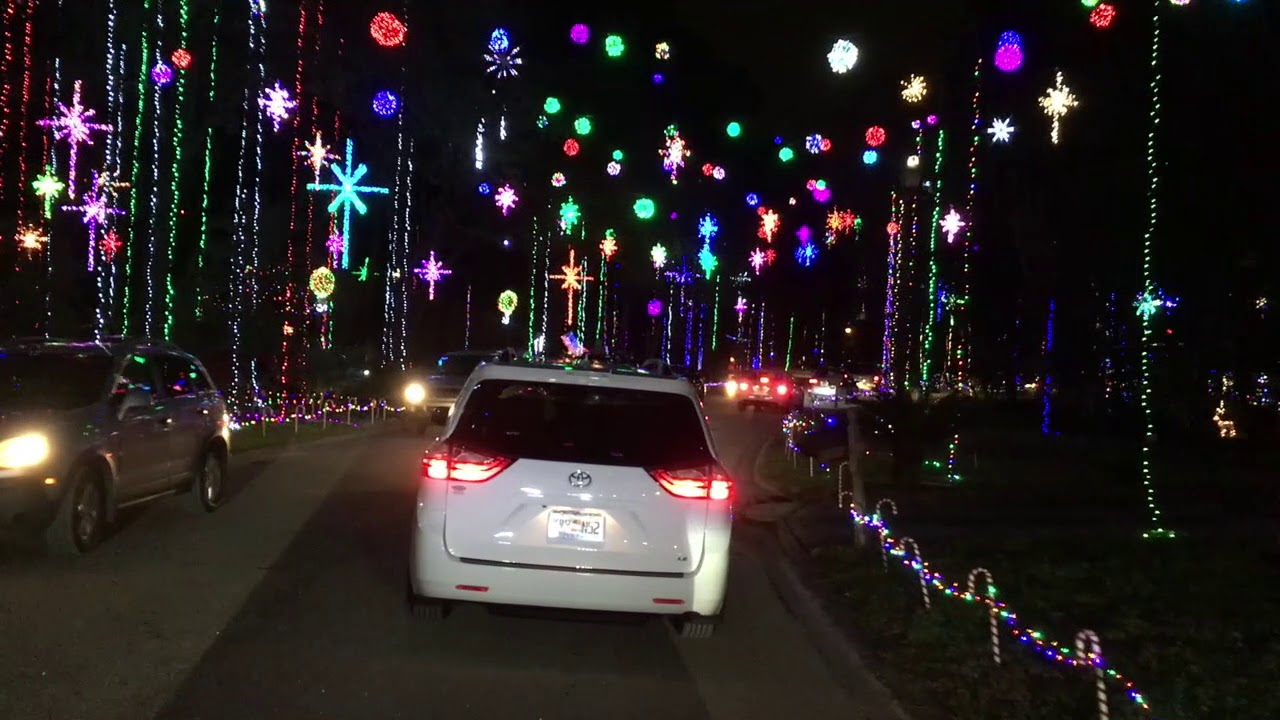 Blackhawk Bluff Christmas Lights 2020 Christmas at Blackhawk Bluff   YouTube