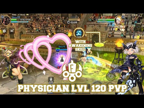 Physician LvL 120 PvP With Awakening Skill - Dragon Nest M #AKMJ Gaming