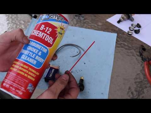 How to clean fuel Injectors (For Cheap!)