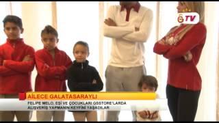 GSTV | FELİPE MELO EŞİ VE ÇOCUKLARI GSSTORE'LARDA ALIŞVERİŞ YAPTI